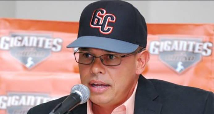 Resultado de imagen para René Francisco,, nueve gerente general del equipo Gigantes del Cibao